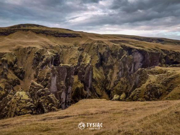 Zwiedzanie Islandii - kanion