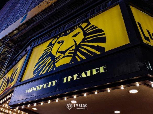 Król Lew na Broadwayu