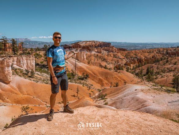 Bryce Canyon - widok ze szlaku
