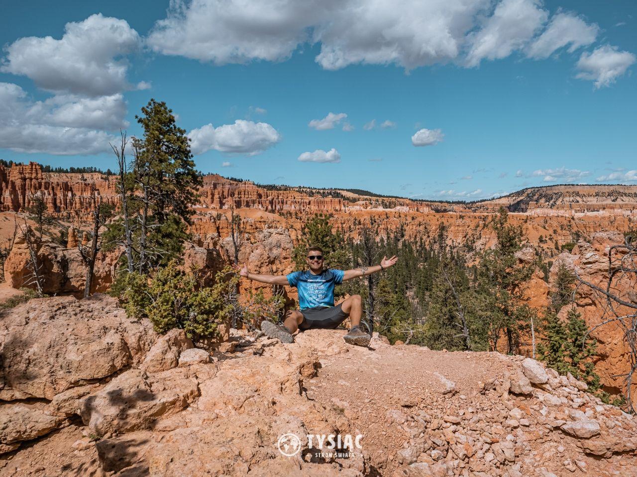 Szlak Peek-A-Boo w Bryce