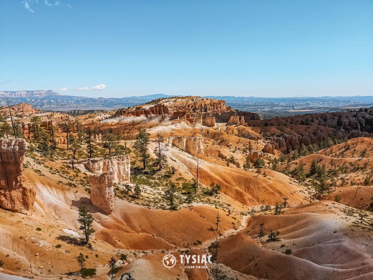 Bryce Canyon - widok