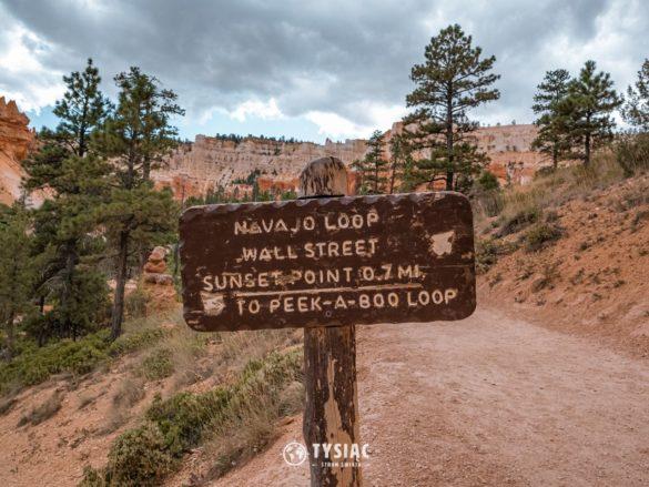 Bryce Canyon - szlak