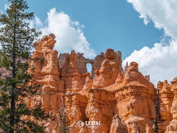 Formacje skalne w Bryce