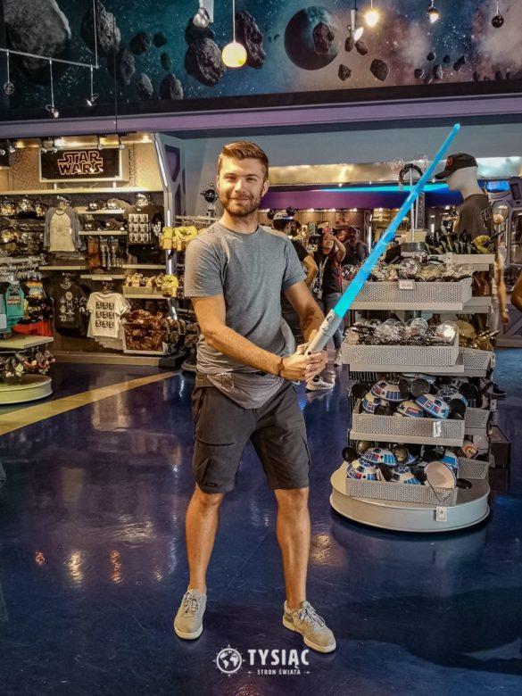 Disneyland - Miecz świetlny