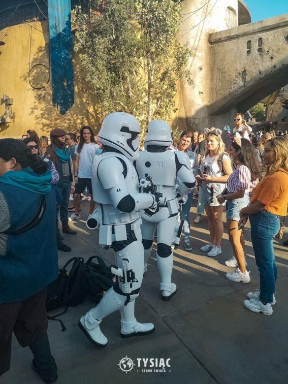 Szturmowcy w Disneylandzie