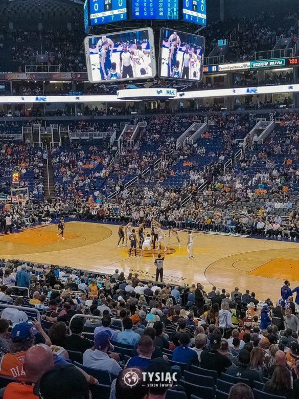 Mecz NBA na żywo w Phoenix