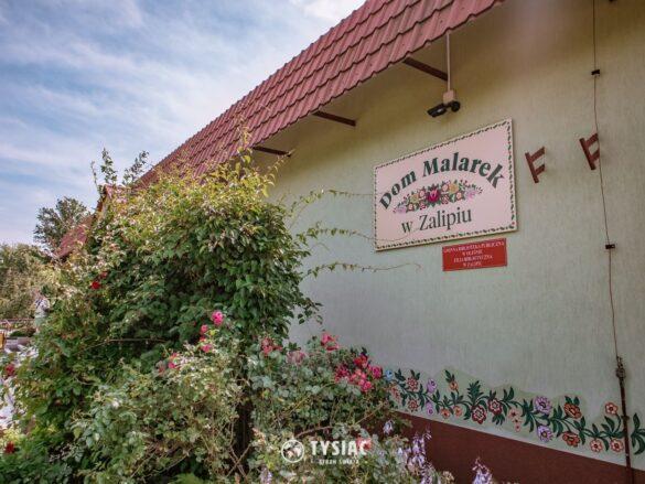 Dom Malarek w Zalipiu
