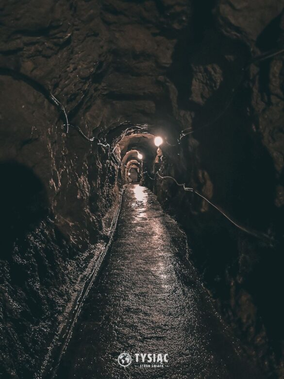 Kopalnia srebra - tunel podziemny