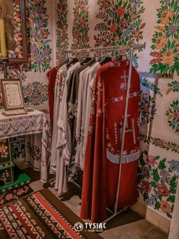 Haftowane szaty w Zalipiu