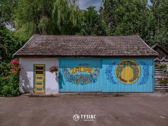 Zalipie - najpiękniejsza wieś w Polsce
