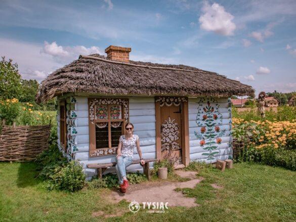 Zalipie - malowane domy
