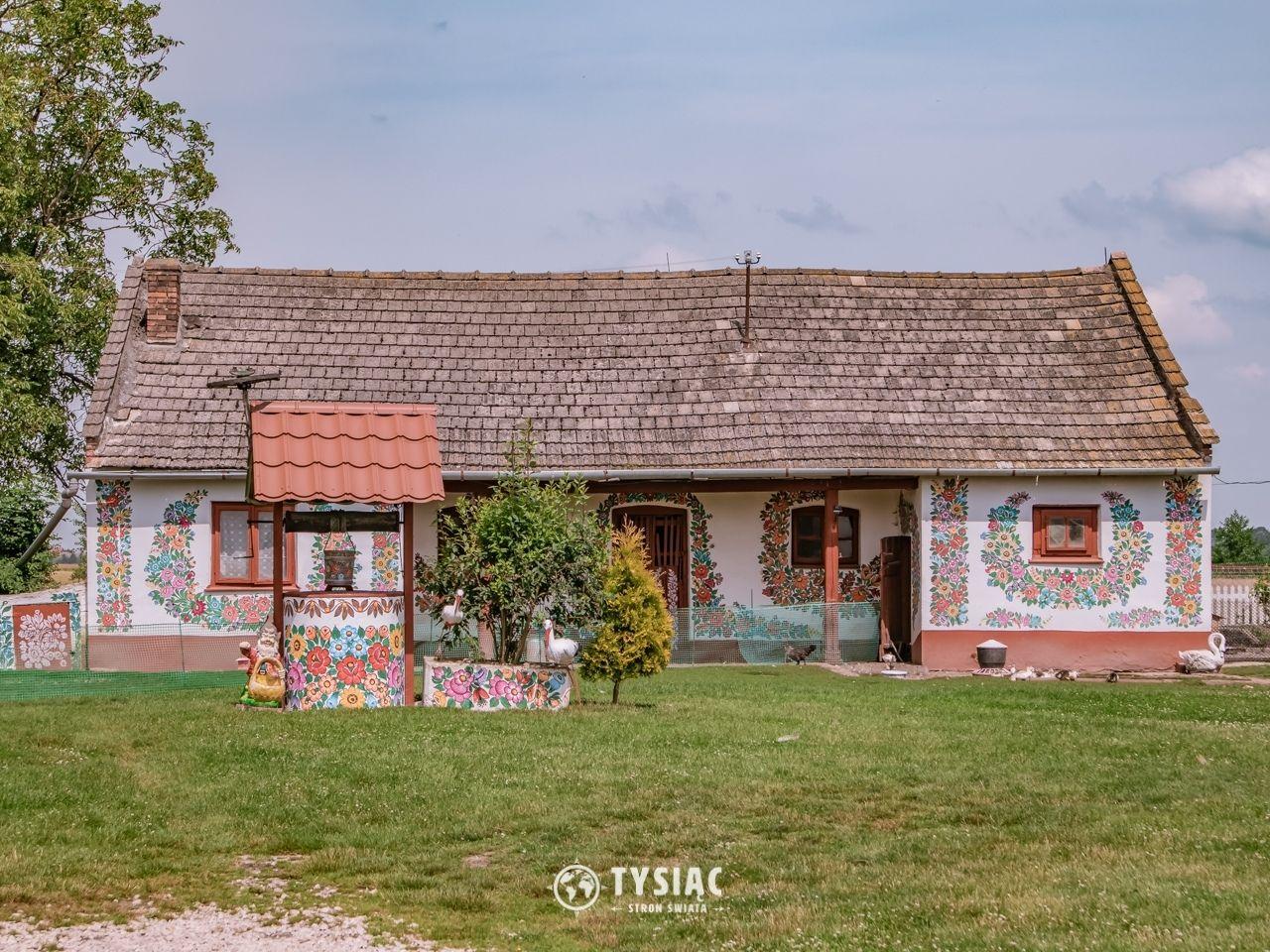 Malowane domy w Zalipiu
