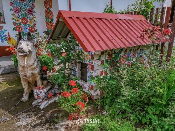 Zalipie - buda dla psa