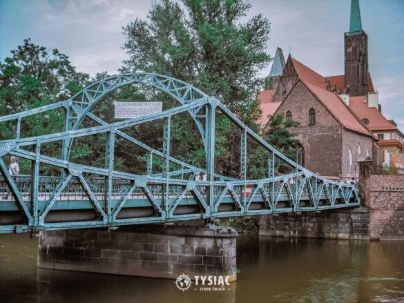 Wrocław zwiedzanie - Most Tumski