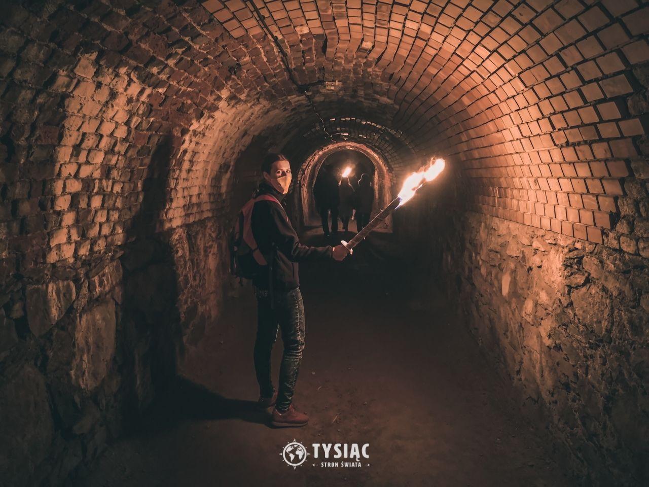 Srebrna Góra - nocne zwiedzanie