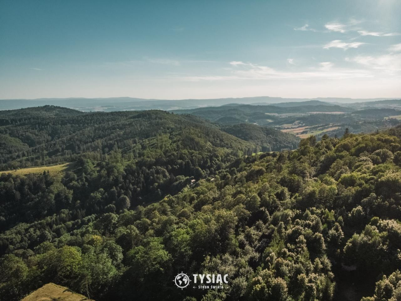 Srebrna Góra - Widok z twierdzy