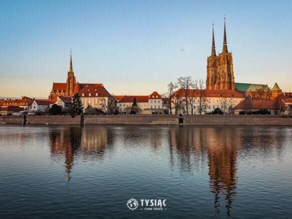Wrocław - bulwar Dunikowskiego