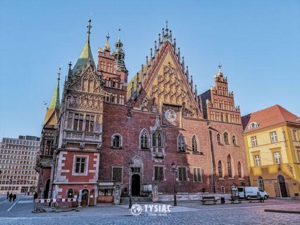 Wrocław - zwiedzanie - Ratusz