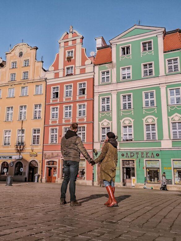 Wrocław - zwiedzanie - rynek
