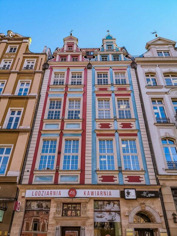 Wrocław - zwiedzanie - kamienice