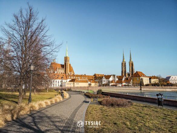 Atrakcje Wrocławia - Wyspa Piasek