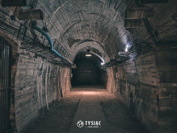 Podziemne tunele - Zamek Książ