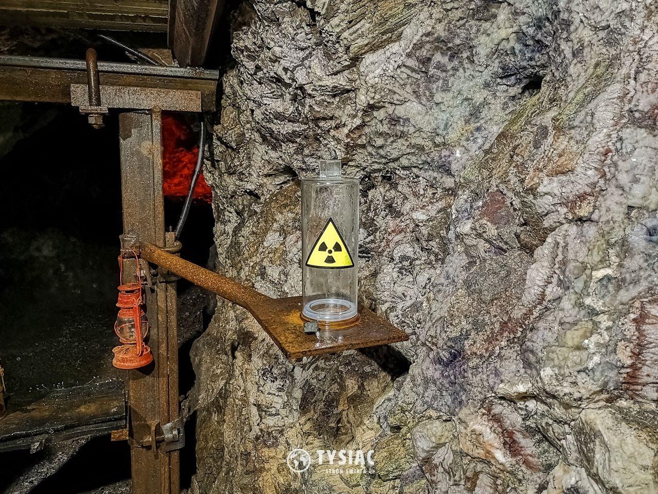 Kopalnia uranu - prawdziwy uran