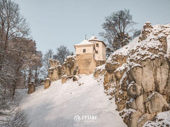 Zamek w Ojcowie - Okolice Krakowa