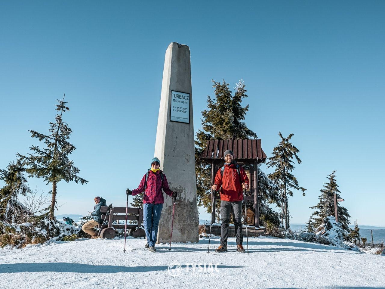 Turbacz - szczyt