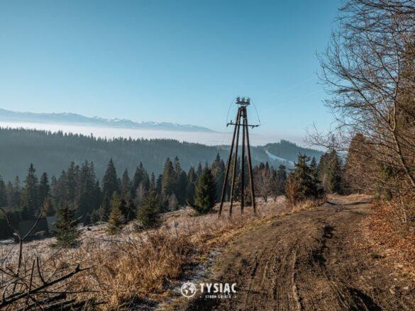 Zielony szlak na Turbacz