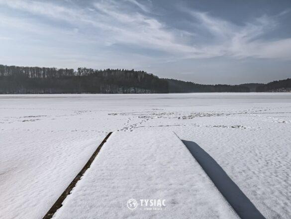 Szeląg Mały w zimowej scenerii