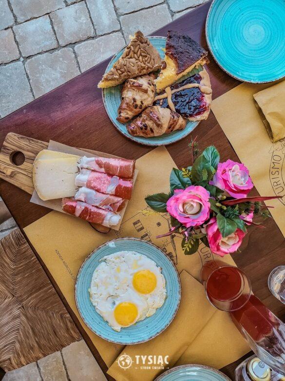 Toskania - śniadania w agroturystyce