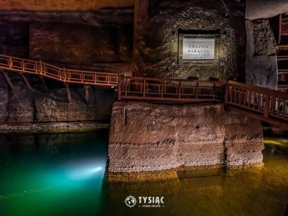Wieliczka - podziemne jeziorko