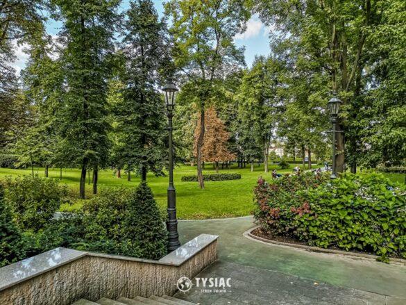 Wieliczka - park św. Kingi