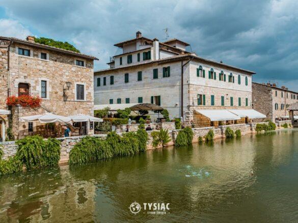 Bagno Vignoni - zwiedzanie Toskanii