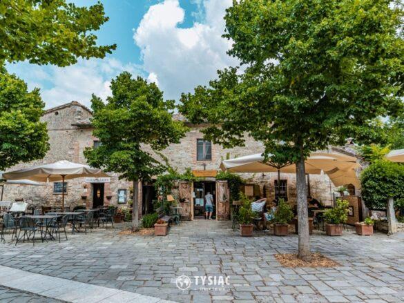 Bagno Vignoni - Toskania