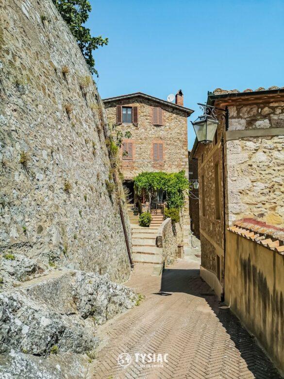 Castiglione d'Orcia - atrakcje Toskanii
