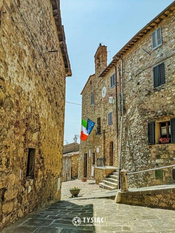 Castiglione d'Orcia - zwiedzanie Toskanii
