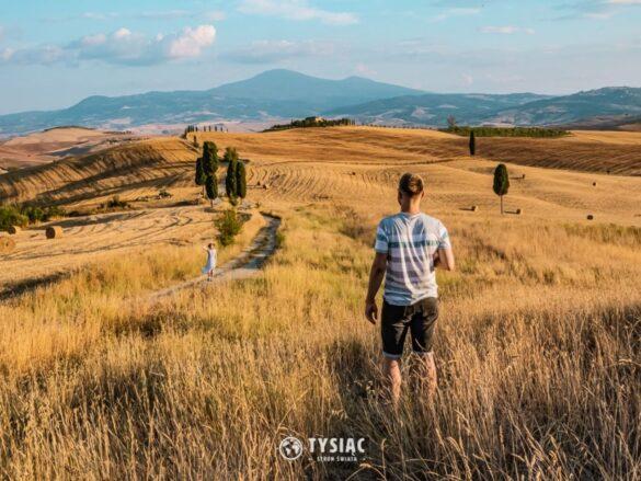 Droga Gladiatora - atrakcje Toskanii