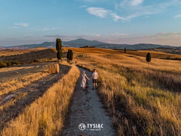 Droga Gladiatora - Toskania