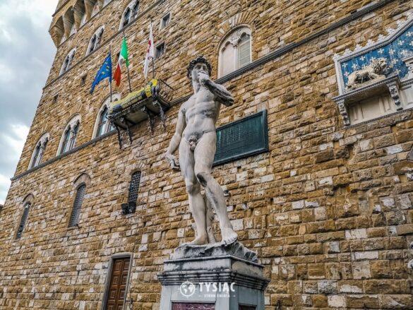 Florencja - kopia rzeźby Dawid