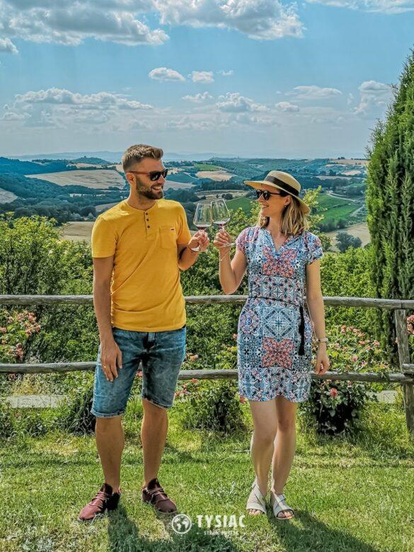 Montemercurio - degustacja wina w Toskanii