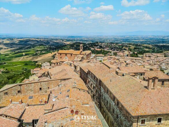 Montepulciano - zwiedzanie Toskanii