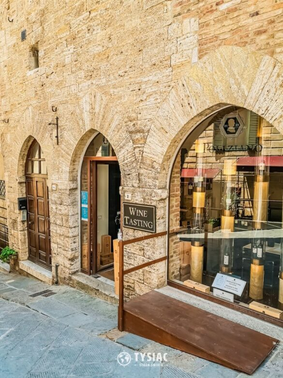 Montepulciano - degustacja wina