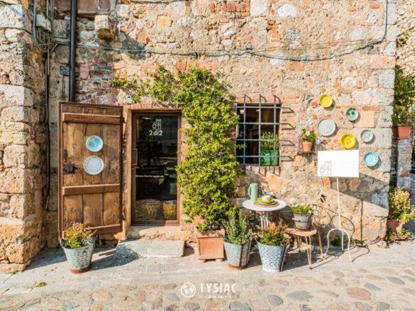 Monteriggioni - Toskania