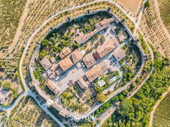 Monteriggioni - atrakcje Toskanii