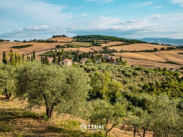 Monticchiello - zwiedzanie Toskanii