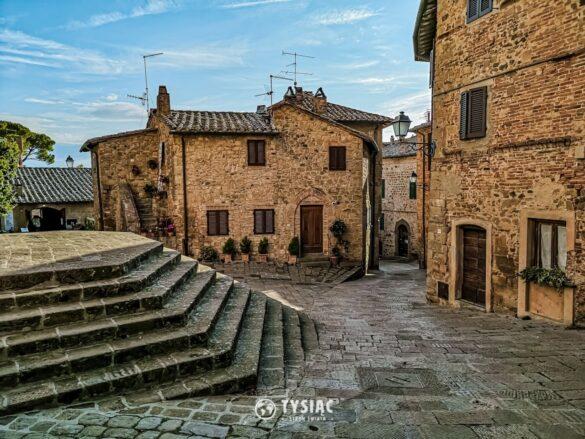 Monticchiello - atrakcje Toskanii
