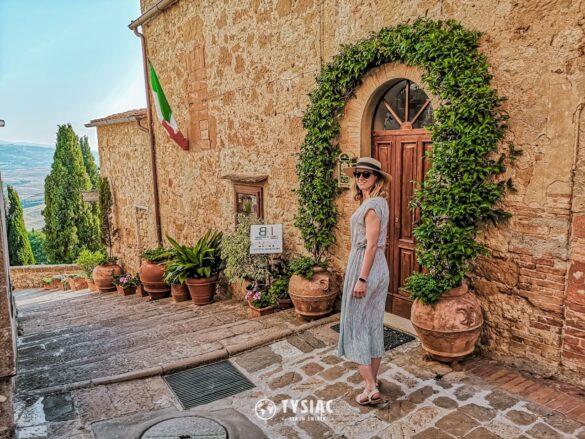 Pienza - atrakcje Toskanii