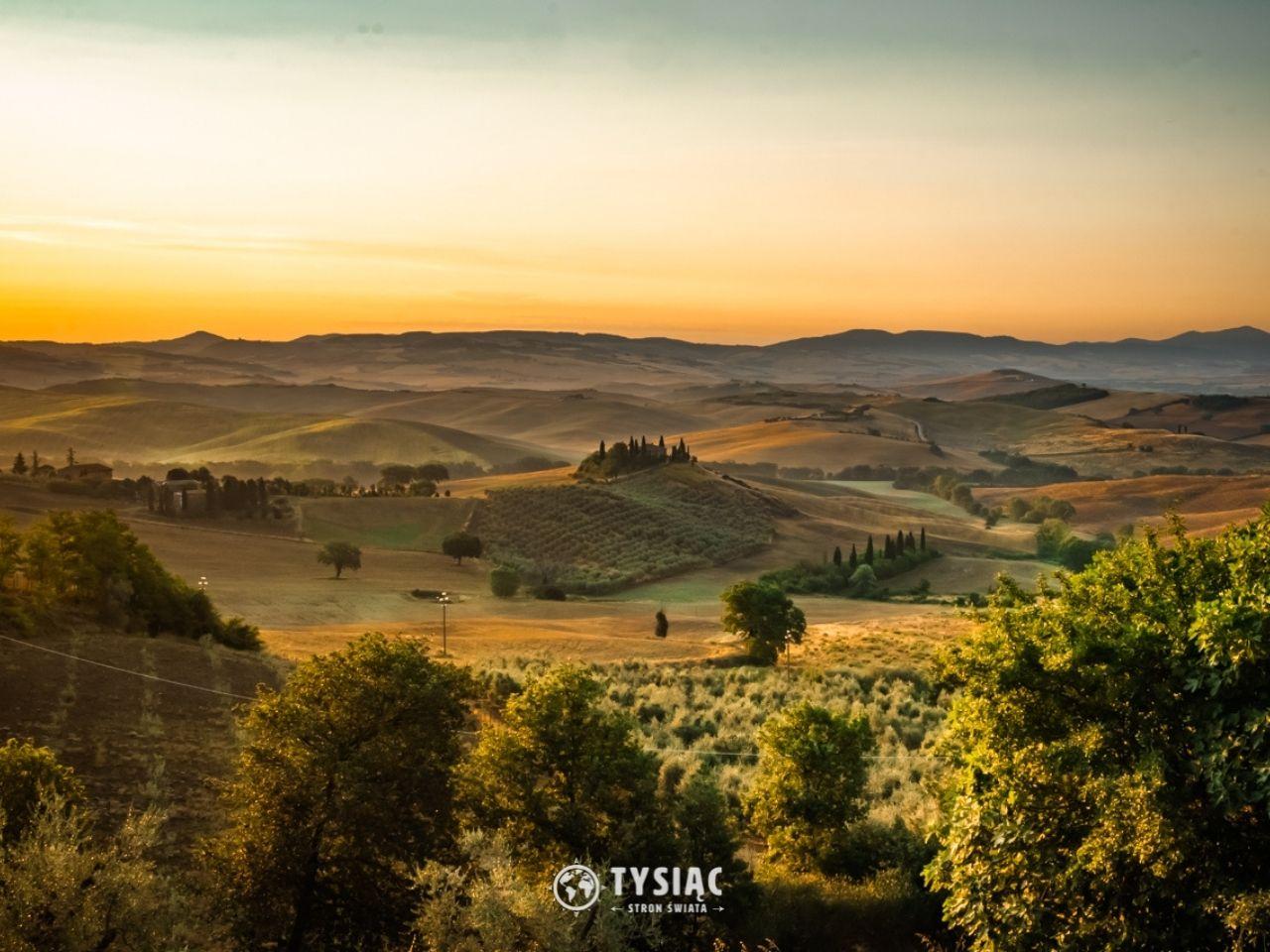 Podere Belvedere - atrakcje Toskanii